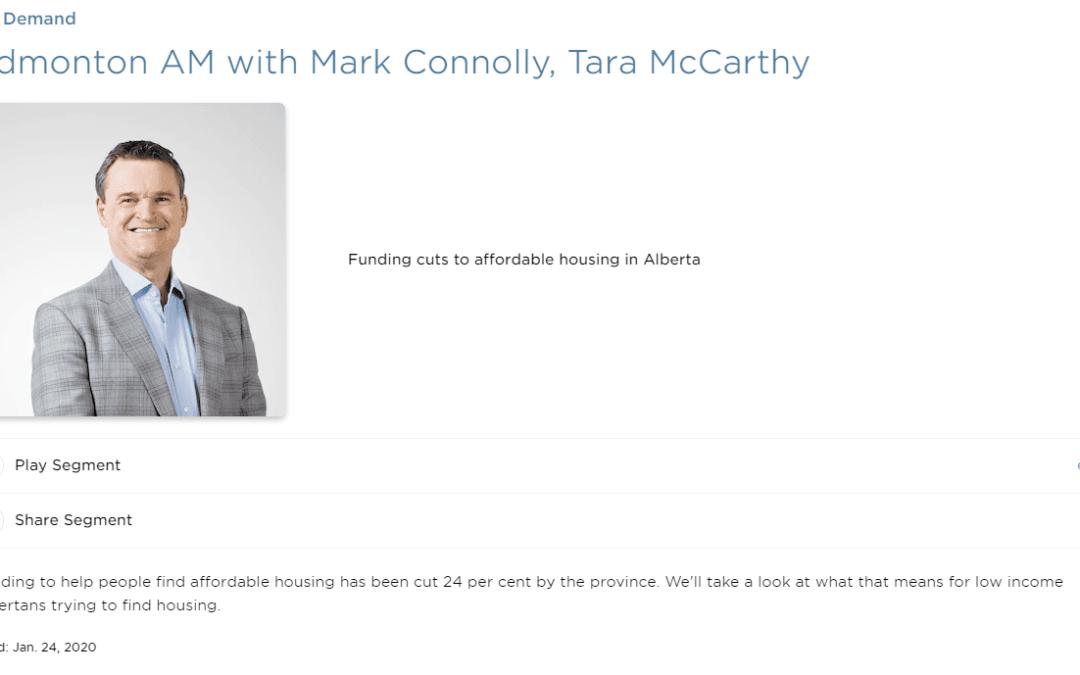 John Kolkman on CBC Edmonton AM with Mark Connolly and Tara McCarthy