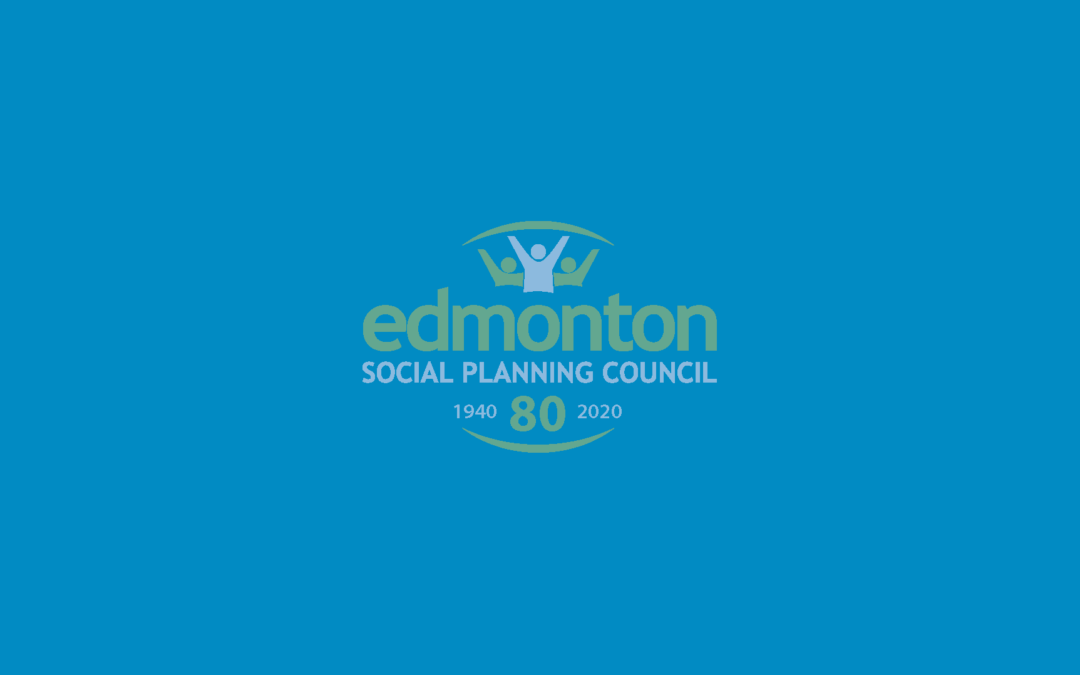 2019 Annual Report of the Edmonton Social Planning Council
